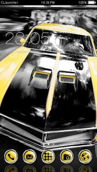 Muscle Car Theme poster