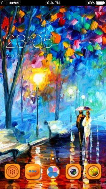 HD Beautiful Scenery Theme poster