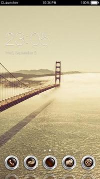 Best Golden Gate Bridge Theme poster