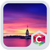 Tower in Evening Theme icon