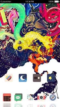 Color Smoke  Launcher Theme screenshot 3