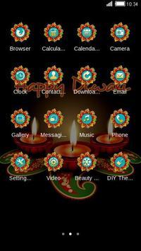 Happy Diwali Day Theme apk screenshot