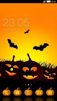 Halloween Pumpkin Theme Free poster