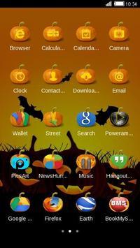 Halloween Pumpkin Theme Free screenshot 2