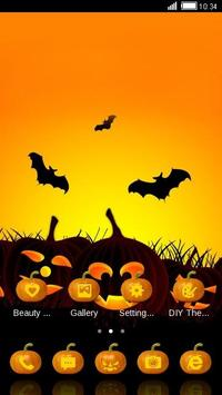 Halloween Pumpkin Theme Free screenshot 3