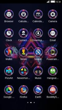 TRIANGULAR ABSTRACT THEME screenshot 2