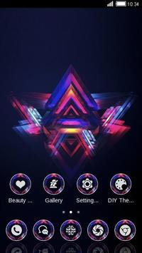 TRIANGULAR ABSTRACT THEME screenshot 3