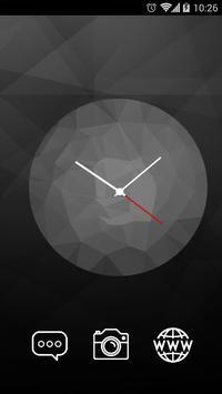 Black Clock C Launcher Theme screenshot 3