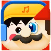 Comic theme: Cute cartoon comic story C launcher icon