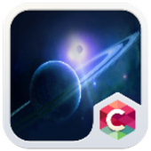 Saturn Space C Launcher Theme icon