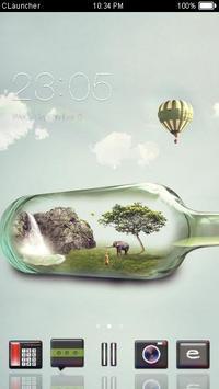 Mini Nature C Launcher Theme poster