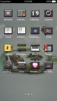 Mini Nature C Launcher Theme screenshot 1