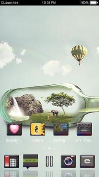 Mini Nature C Launcher Theme screenshot 2