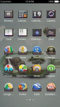 Mini Nature C Launcher Theme screenshot 3