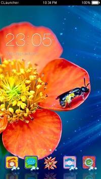 Gorgeous Flower Theme poster