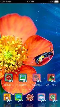 Gorgeous Flower Theme apk screenshot