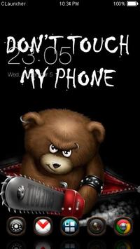Dont Touch My Phone Theme poster