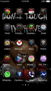 Dont Touch My Phone Theme screenshot 1