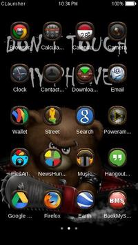 Dont Touch My Phone Theme screenshot 2