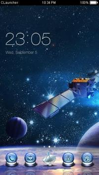 Satellite Theme poster