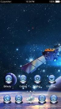 Satellite Theme screenshot 3