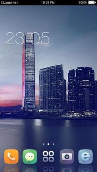 Skyscraper City Theme HD poster