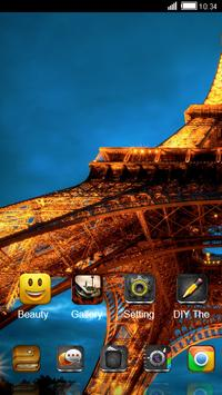 Paris CLauncher Theme apk screenshot