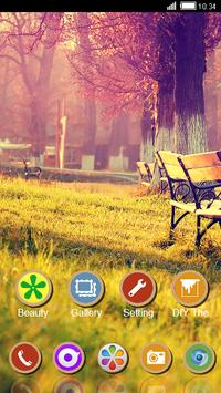 Peaceful Park CLauncher Theme apk screenshot