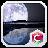 Big Full Moon CLauncher Theme icon