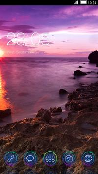 Beautiful Sunset CLauncher The poster