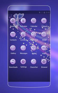 Flower Theme C Launcher apk screenshot