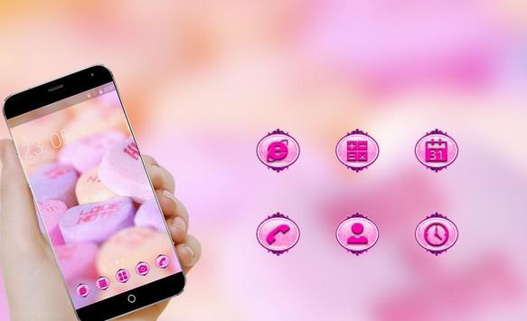 Love Theme C Launcher apk screenshot