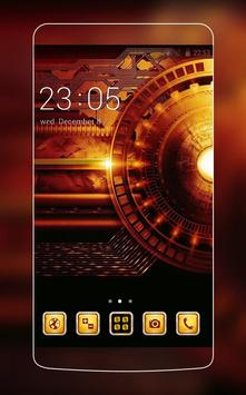 Gold Technology Theme poster