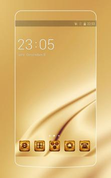 Gold Theme C Launcher poster
