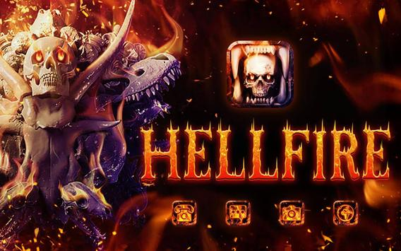 Hell Fire Skull Theme screenshot 11