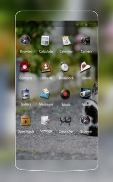 Super cute theme C launcher screenshot 1