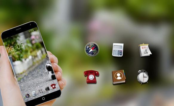Super cute theme C launcher screenshot 3