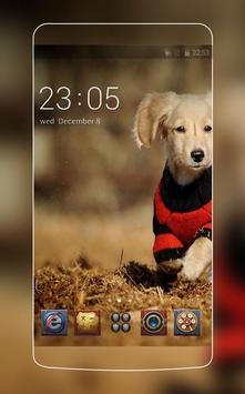 Smart Puppy Theme C Launcher poster
