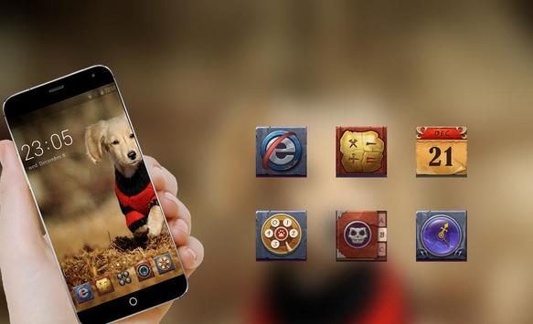 Smart Puppy Theme C Launcher apk screenshot