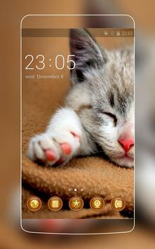 kitty cat Theme C launcher poster