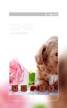 Lovely theme: Puppy poster