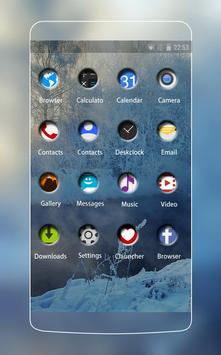Cold Winter Theme CLauncher apk screenshot