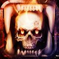 Skull Theme: Skeleton Hellfire wallpaper HD