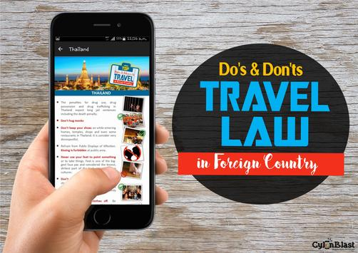 Top Rules to Travel in Foreign Country screenshot 3