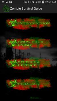 Zombie Survival Guide Lite poster