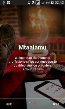 Mtaalamu screenshot 2