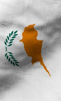Cyprus flag lwp Free screenshot 2