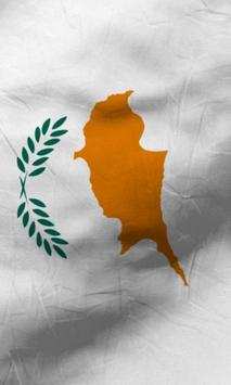 Cyprus flag lwp Free screenshot 4