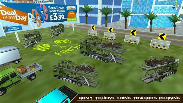 Army Truck Transporter apk screenshot
