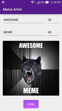 Meme Artist apk screenshot